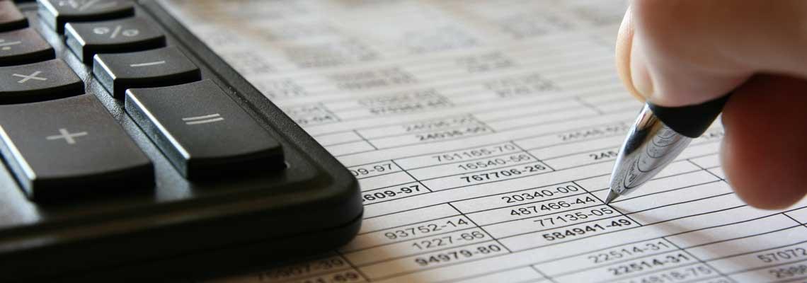 tax forms closeup